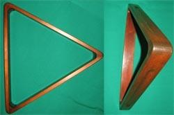 """Треугольник """"Античный"""" для шаров 70 мм, берёза цв. 46/2 (скидка 22%)"""