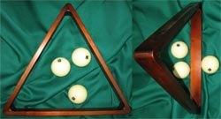 """Треугольник """"Античный"""" для шаров 70 мм, берёза цв. 48/5 (скидка 22%)"""